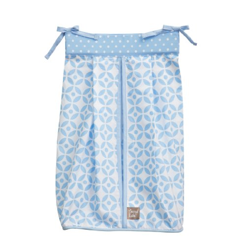 Trend Lab Logan Diaper Stacker, Blue