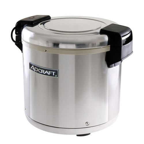 Adcraft Countertop Heavy Duty Stainless Steel Rice Warmer, 15.5 x 18.5 x 14.75 inch -- 1 each.