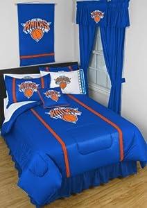 New York Knicks Sidelines Queen Bedding Set by NBA New York Knicks