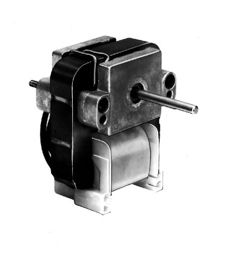 Fasco K114 C Frame Open K Line Shaded Pole Oem Replacement Electric Motor With Sleeve Bearing, 1/500Hp, 1100Rpm, 115Vac, 60Hz, 0.74 Amps, For Refrigeration Fan