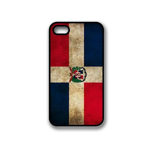 Dominican Republic Flag Iphone 4 Case - Fits Iphone 4 & Iphone 4S