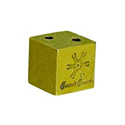 90 Central Avenue - Cuboid Incense Holder. Handcrafted and designer incense holder made from brass.