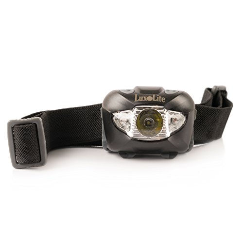 LED Headlamp Flashlight with Red Light - Brightest Headlight for Camping Hiking Running Backpacking Fishing Hunting Walking Reading - Waterproof Headlamps - Best Work Head Lamp Light with Batteries (Head Mounted Led Flashlight compare prices)