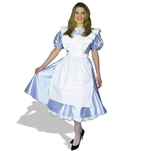 Halloween 2017 Disney Costumes Plus Size & Standard Women's Costume Characters - Women's Costume CharactersCharades Costumes Womens Alice Adult Costume Plus Blue