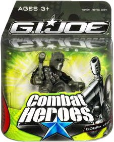G.I. Joe The Rise of Cobra Combat Heroes Single Pack Cobra Viper