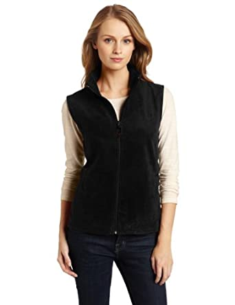 Woolrich Women's Andes Fleece Vest, Black, Small