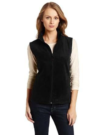 Woolrich Women's Andes Fleece Vest, Black, Small