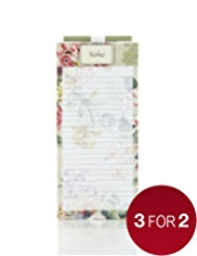 Garden Fridge Magnet Notebook