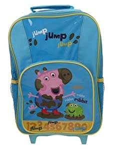 Peppa Pig George Premium Wheeled Bag by Trade Mark Collections