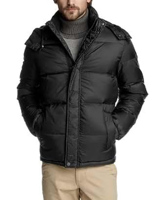 ESPRIT Herren Jacke Regular Fit J30139, Gr. 56 (XXL), Schwarz (black 001)