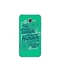 Kolor Edge Printed Back Cover For Samsung Galaxy On7 - Multicolor (8022-Ke10089SamOn7Sub)