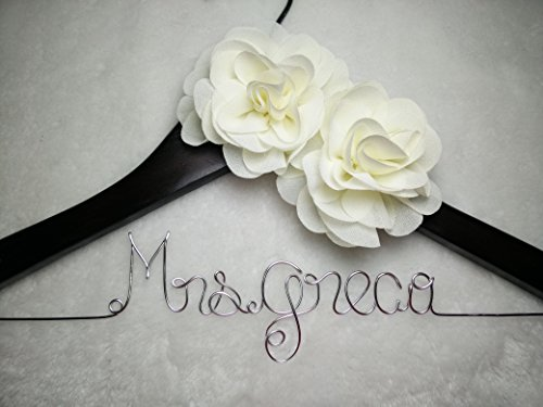Personalized Wedding Hanger, Bridesmaid Gifts, Name Hanger, Brides Hanger Bride Gift
