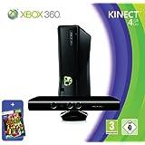 Xbox 360 - Console 4 GB con Sensore Kinect, Abbonamento Xbox Live Gold da 1 mese e Kinect Adventures [Bundle]di Microsoft