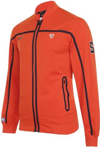 Nike Mens Dri-Fit Syracuse Orange Bb10 Basketball Game Jacket Size L