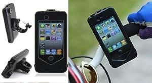 Dynamic - Heavy Duty Weather / Shock Proof Bike Mount Holder Hard Case for Apple iPhone 5 / 5S