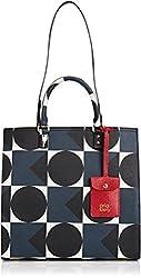 Orla Kiely Textured Vinyl Willow Box Shoulder Bag