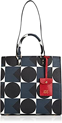 Orla Kiely Textured Vinyl Willow Box Shoulder Bag