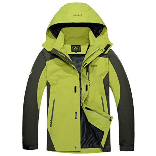 Timeiya Men's Fashion Windproof Breathable Waterproof Jackets for Outdoor Activities (Weatherproof Quilted Boots compare prices)