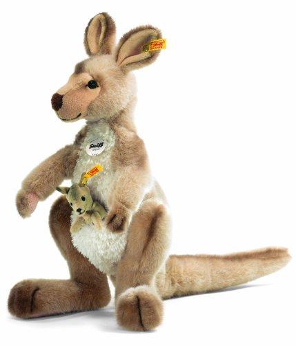Peluche Canguro con bebe - 40 cm