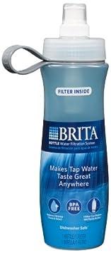 德国碧然得Brita Bottle with Filter便携式户外滤水杯 $8.88 蓝色