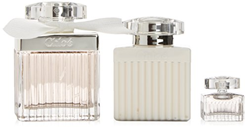 Chloe Signature 135-35715 - Pack 3 pezzi (eau de toilette 75 ml, lozione per il corpo 100 ml, eau de toilette 5 ml)
