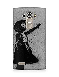 Amez designer printed 3d premium high quality back case cover for LG G4 (Love Generation)