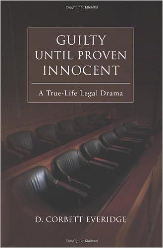 Guilty Until Proven Innocent, Corbett Everidge | Bibliophilia: read more books! (Recommended reading)