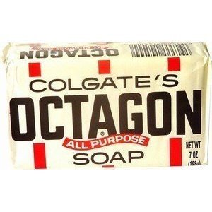 Octagon All Purpose Laundry Bar Soap By Colgate 7 Oz (Pack of 6)
