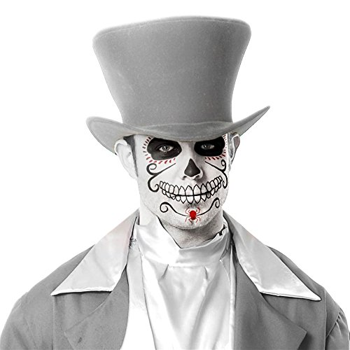 Charades Ghost Groom Adult Grey Hat