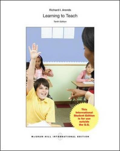 Learning to Teach (Int'l Ed)