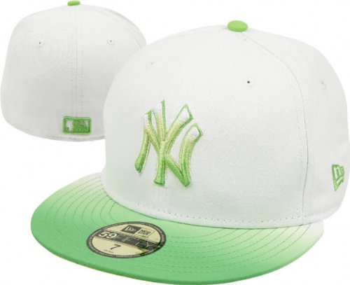 Colored brim fades to white for a stylish look Color logo standsout against
