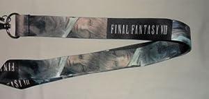 Final Fantasy VII Manga Anime Video Game Themed ID Badge, Keychain, Multi-Purpose Lanyard Strap