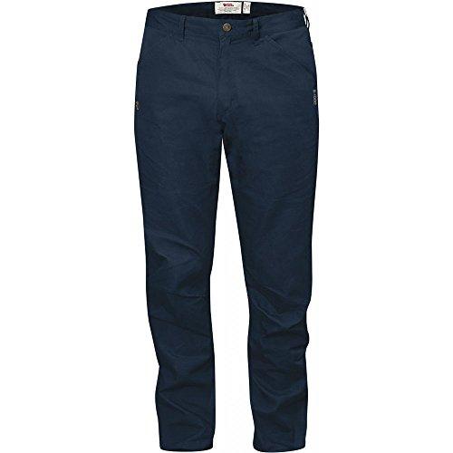 Fjällräven-Pantaloni da uomo high Coast pantaloni da Trekking, Uomo, High Coast Trousers, blu navy, 52