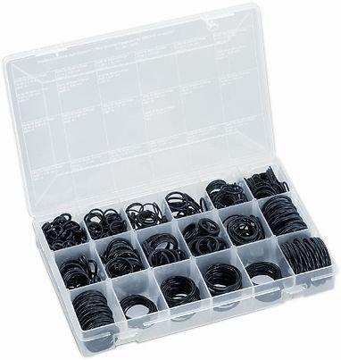 Hansgrohe Grohe O-Ring Sortiment Gesamtinhalt 930 Stück O-Ringe in 18 verschiedenen Abmessungen