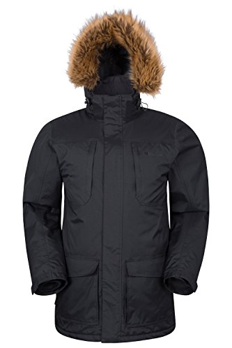 Mountain Warehouse Canyon Lange wasserdichte Herrenjacke