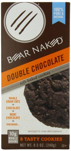 Bear Naked Bear Naked Soft Baked Cookies Double Chocolate, 8.5000-Ounce (Pack of 6) by Bear Naked