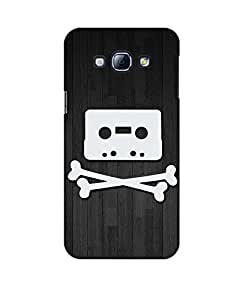 Pick Pattern Back Cover for Samsung Galaxy A8