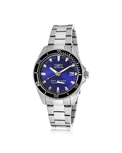 Invicta Women's 15136SYB Pro Diver Silver/Blue Stainless Steel Watch