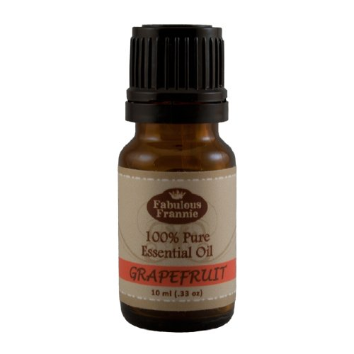 GRAPEFRUIT 100% Pure, Undiluted Essential Oil Therapeutic Grade - 10 ml. Great for Aromatherapy!