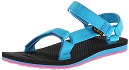 Teva Women\'s Original Universal Sandal,Blue/Pink,9 M US