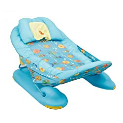 Carters Large Comfort Bather - Light Blue, 0M+