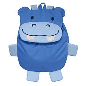 Geen Sprouts Safari Friends Backpack Hippo