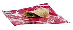 Wrapeat Reusable Food Tortilla Wrap Pack-x3 for Lunch Boxes and Lunch Bags