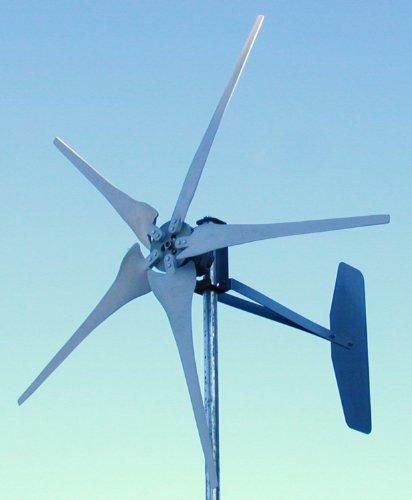 600 Watt 5 Blade Wind Turbine Kit - 12 Volt