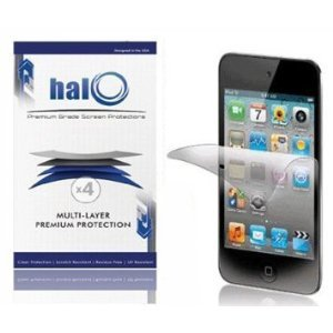 Halo Screen Protector Film for Apple iPod Touch 4G 4 - 3 Pack - Clear