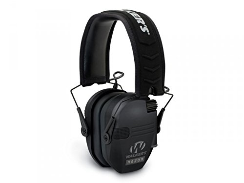 Walkers Game Ear Razor Slim Electronic Muff, Black (Ear Muff Protection compare prices)