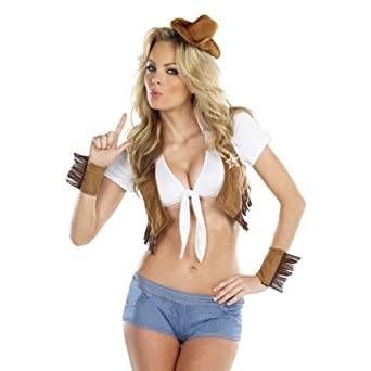 Ride 'em Cowgirl Adult Costume Kit