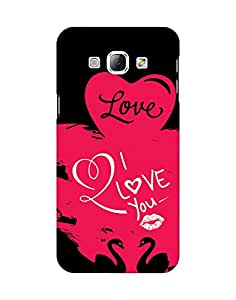 Mobifry Back case cover for Samsung Galaxy A8 Mobile (Printed design)