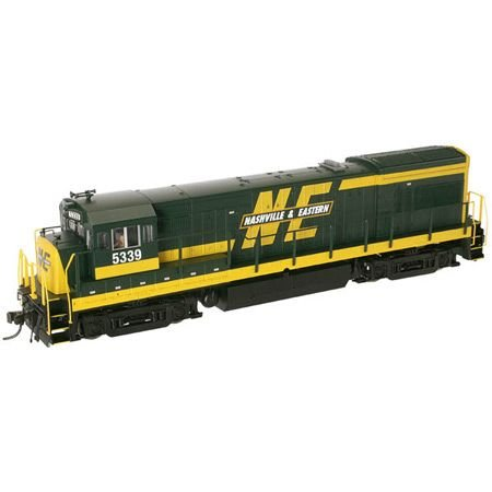 Atlas Nashville and Eastern #5344U30B Phase 2 with DCC HO Scale Locomotive