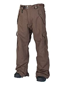 686 Smarty Original Cargo Pant Texuture - Mens - Large, Chocolate Texture by 686